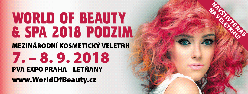 World Of Beauty And Spa 5. – 7.9.2018